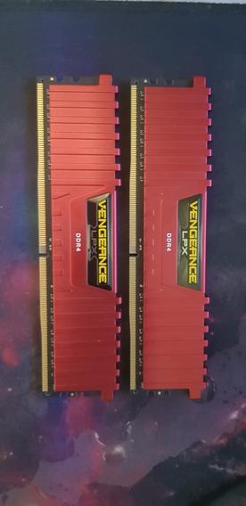 Memória Corsair Vengeance Lpx, 16gb(2x8) 2400mhz, Ddr4, Cl16