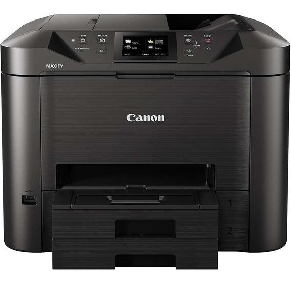Multifuncional Canon Mb5410 Com Bulk De 500ml Cada Cor
