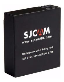 Bateria Extra Sjcam Sj7 Star Original Câmera Sobressalente