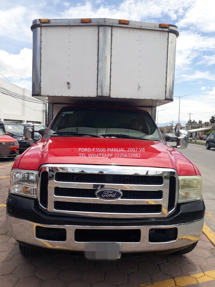Ford F3500 Manual 2007 Caja Seca Xl