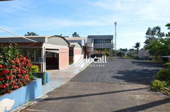 Barracão Comercial Para Locação, Distrito Industrial, São José Do Rio Preto. - Ba0028