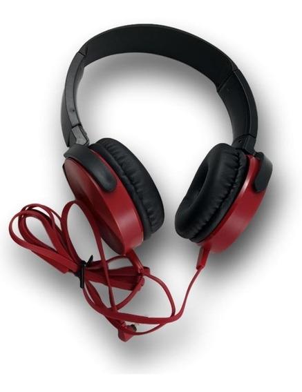 Fone De Ouvido Com Fio Headfone Headset Extra Bass