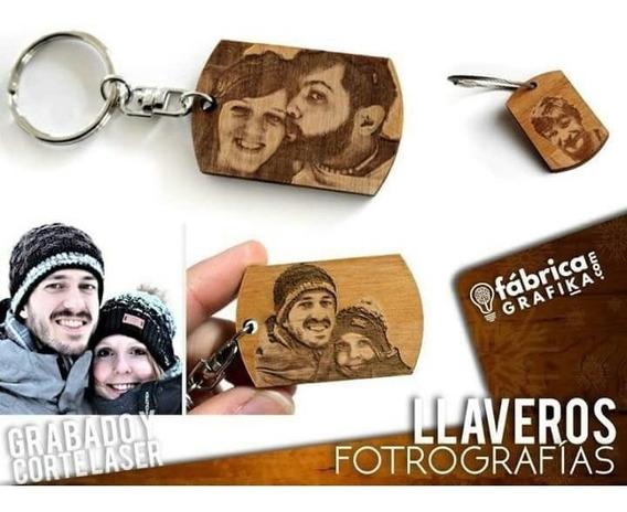 Llaveros Personalizados, Retratos, Fotos, Madera, Acrilico.