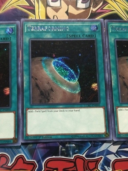 Yugioh Terraforming Secret En Original
