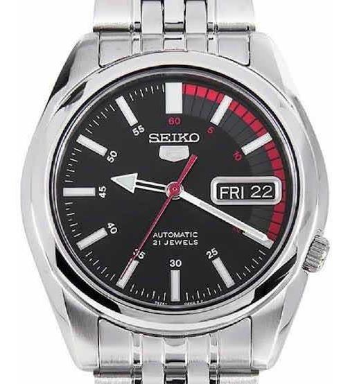 Relógio Seiko Masculino Automático Snk375b1 P1sx *21jewels