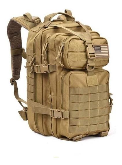 Mochila Tactica Militar Grande 45l. Backpack Escolar Viaje