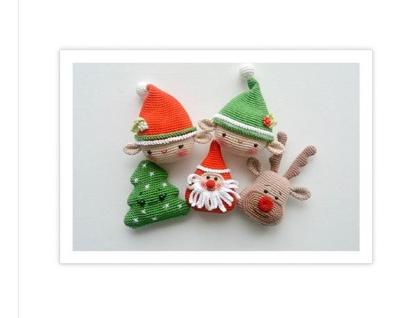 10 Patrones Amigurumi Navidad + Regalo ! Crochet Inglés