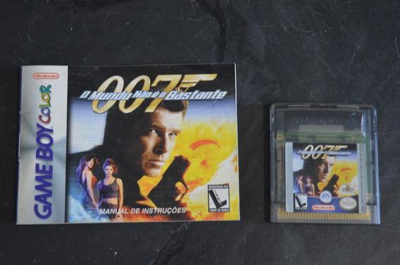 007 O Mundo Não É O Bastante Game Boy Color