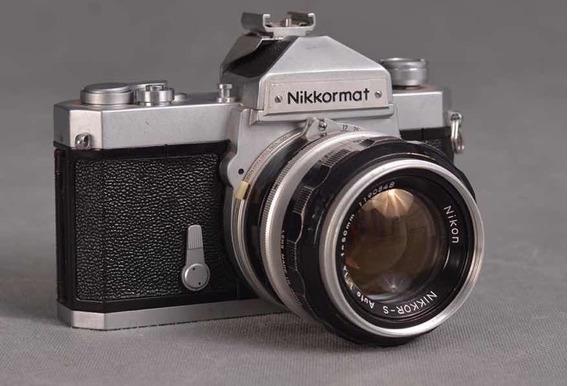 Nikormatt Com Lente Nikon 50mm 1.4