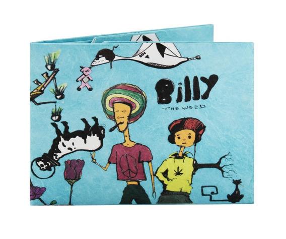 Billetera De Papel Tyvek Monkey Wallets Billy