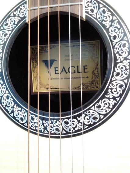 Violão Eagle Aço Elétrico - Amplificado Ovation