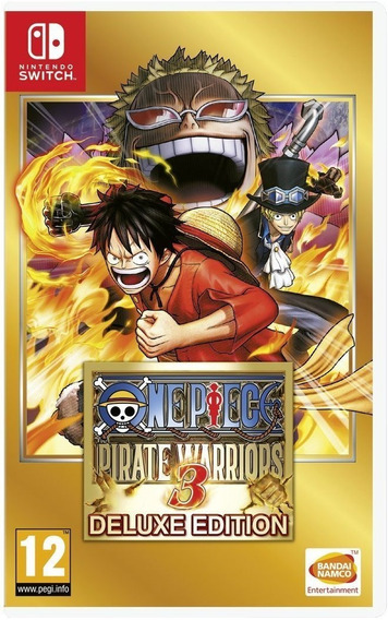 One Piece Pirate Warriors 3 Deluxe Edition - Switch