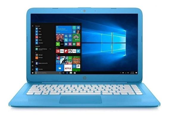 Notebook Hp Intel® Dual Core 4gb Emmc 32gb Win 10 Tela 14
