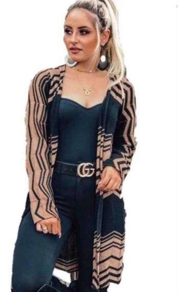 Kimono Casaco Kimono Blusa Tricot Poncho Roupas Femininas