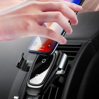 Cargador Celular Inalámbrico Para Auto Baseus Q1 Soporte Bas