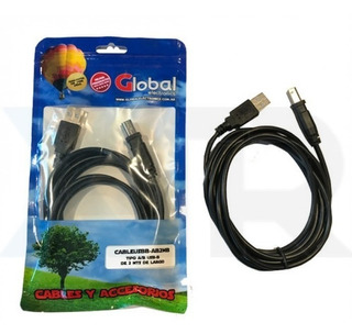 Cable Usb Global Impresora