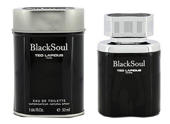 Black Soul Ted Lapidus - Perfume Masculino - Eau De Toilette 50ml