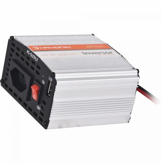 Inversor Conversor Corriente 200w Solar Auto 12v A 220v Usb