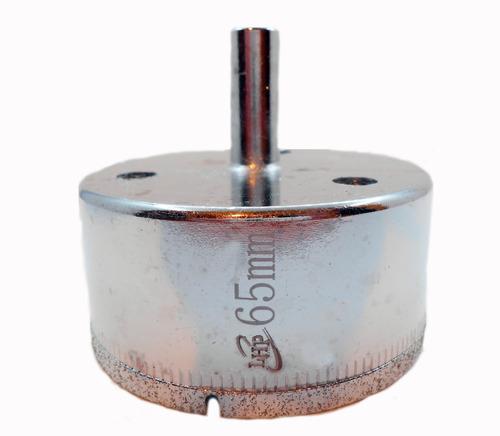 Imagen 1 de 6 de Mecha Diamantada 65mm Vidrio Cerámica Mármol Porcelanato