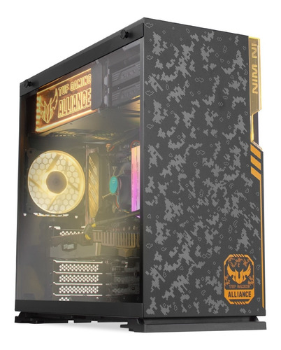 Imagen 1 de 6 de Xtreme Pc Gamer Tuf Geforce Rtx 2060 Core I7 16gb 2tb