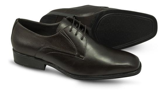 Sapato Social Sândalo Bourbon Black Cadarço