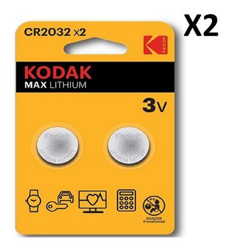 Baterías Pilas Kodak Max Lthium 2  Cr2032 3v