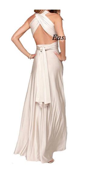 Elegante Y Hermoso Vestido Dama Fiesta