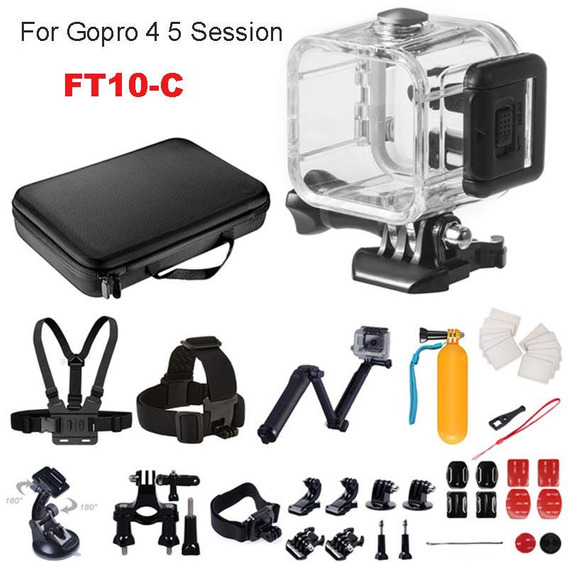 Kit Aventura Para Câmeras De Ação Gopro Hero Session 4 5
