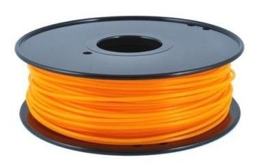 Filamento Laranja Fluo Pla 1,75 Mm Para Impressora 3d - 1kg