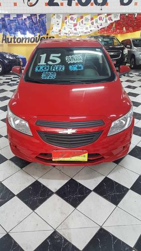 Chevrolet Onix Ls 1.0 Flex Ano 2015 Vermelho 5 Portas