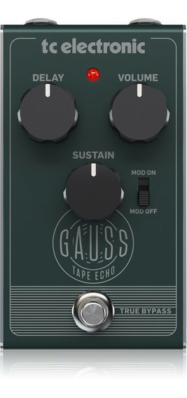 Pedal Para Guitarra - Gauss Tape Echo Tc Electronic