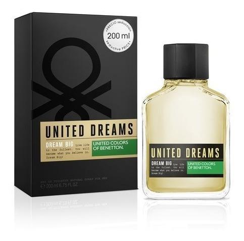 Perfume Masculino Benetton Dream Big Men 200ml