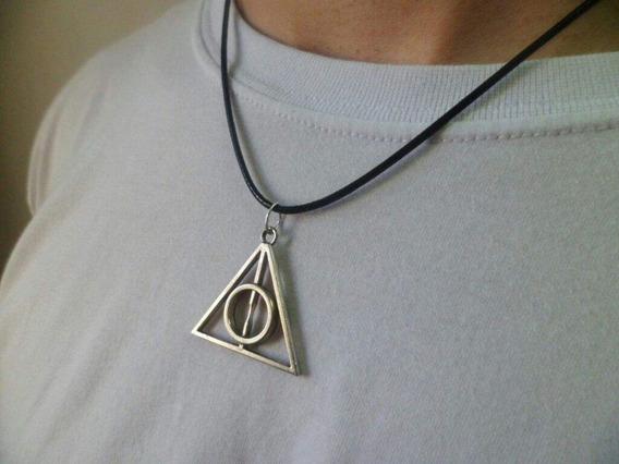 Colar Harry Potter Reliquias Da Morte Frete Fixo Só 10 Reais Para Todo O Brasil