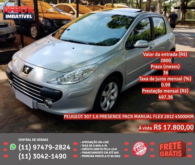 Peugeot 307 2012 1.6 Presence Flex 5p