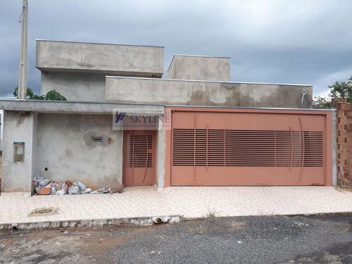 Casa A Venda No Bairro Centro Em Cedral - Sp.  - 617-1