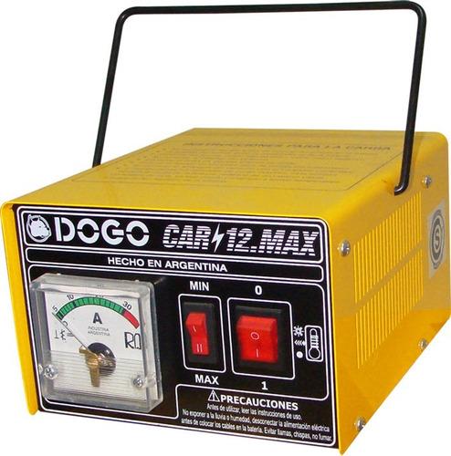 Imagen 1 de 6 de Cargador De Baterias Auto 12v Dogo Car 12 Max Portatil