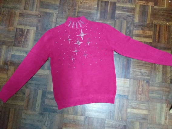 Pullover Rosa Mujer Talle Único