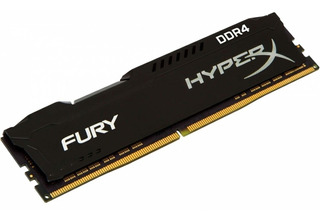 Memoria Ram Ddr4 8gb 2400mhz Hyperx Fury Black Hx424c15fb2/8