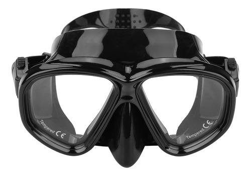 Imagem 1 de 6 de Máscara De Mergulho De Vidro Temperado Baleia Óculos De Nata