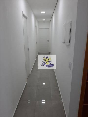 Sala Para Alugar, 10 M² Por R$ 700/mês - Jardim Pilar - Mauá/sp - Sa0018