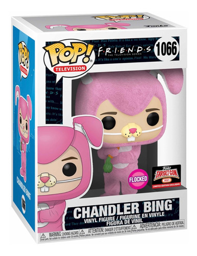 Funko Pop Chandler Bing Flocked - Friends - Target Con #1066