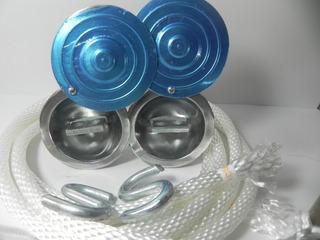 Hamaqueros Soporte De Hamacas De Aluminio Inc. Sogas Y S Kit