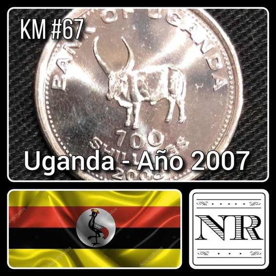 Uganda - 100 Shilling - Año 2007 - Km # 67 - Africa - Watusi