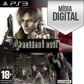 Resident Evil 4 Re4 Ps3 Mídia Digital Psn
