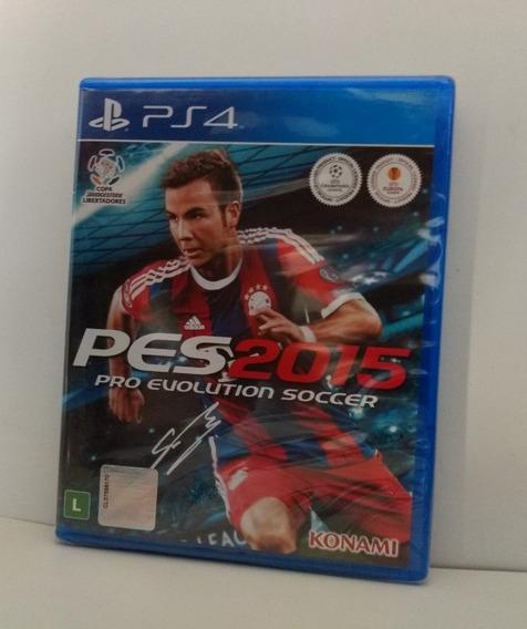 Pes 2015 Pro Evolution Soccer Ps4 Midia Fisica Lacrado