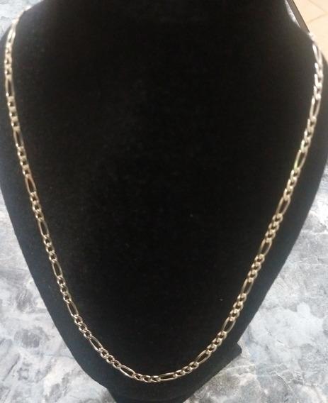 Hermosa Cadena Plata Fina Ley .925 Tejido Cartier 3x1 70cm
