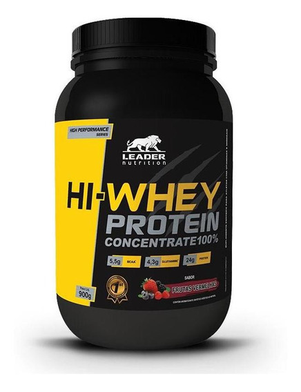 Hi-whey Protein Concentrado (900g) Leader Nutrition