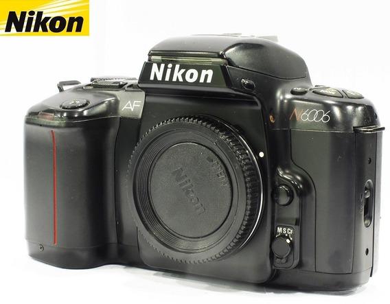 Câmera Nikon Reflex 35mm Modelo N6006 Analógica - Só O Corpo
