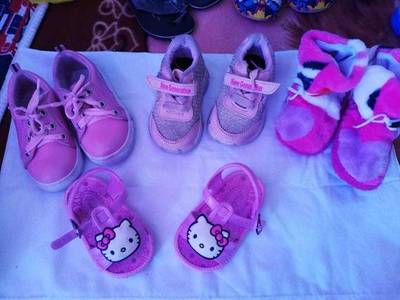 Vendo Zapatos De Niña Para Año Y Medio Talla 17/18