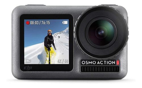 Imagen 1 de 3 de Cámara deportiva DJI Osmo Action 4K AC001 gray